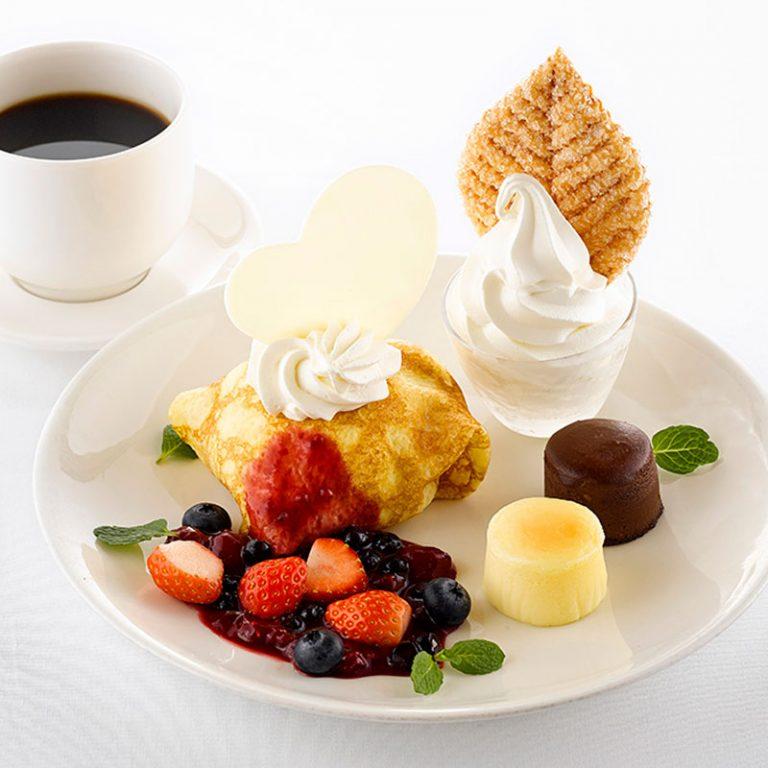 デザートセット(コーヒー又はティー付き)