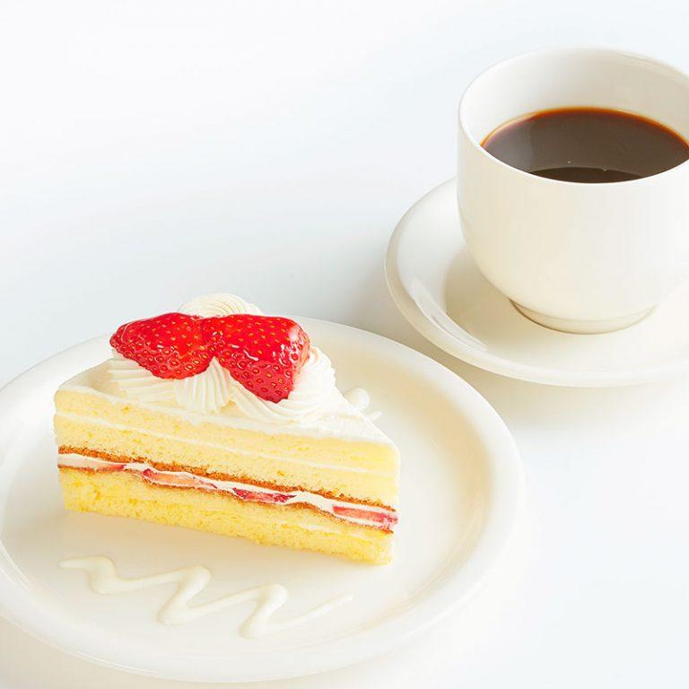 モーニングケーキセット